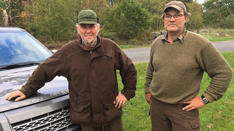 Karl-Gustav Ottosson och Jan Petersson