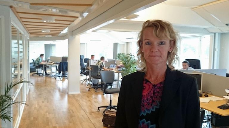 Jeanette Lindström på säljbolaget Lindmark Media.