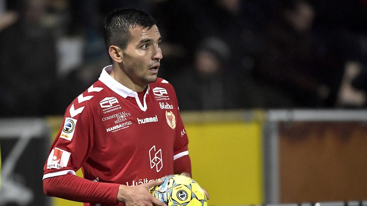 Kalmar FF-spelaren Emin Nouri.