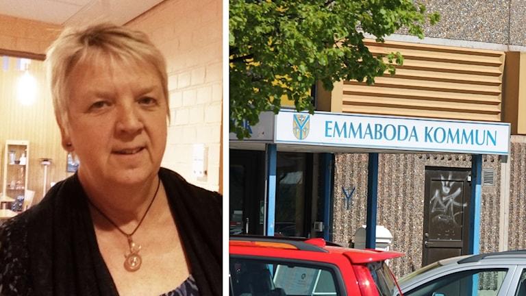 Ann-Marie Fagerström, ordförande kommunstyrelsen Emmaboda.