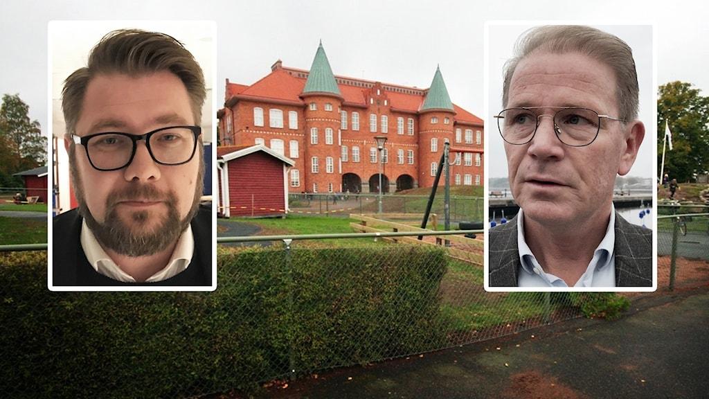 Dan Nilsson, Harald Hjalmarsson och Marieborgsskolan.