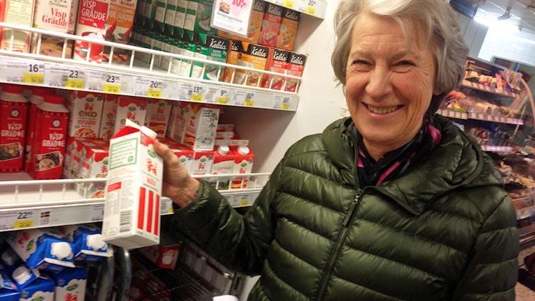 Anna Blücher, universitetslektor och tidigare programansvarig för för Nutrition och Livsmedelsvetenskap vid Linnéuniversitetet.