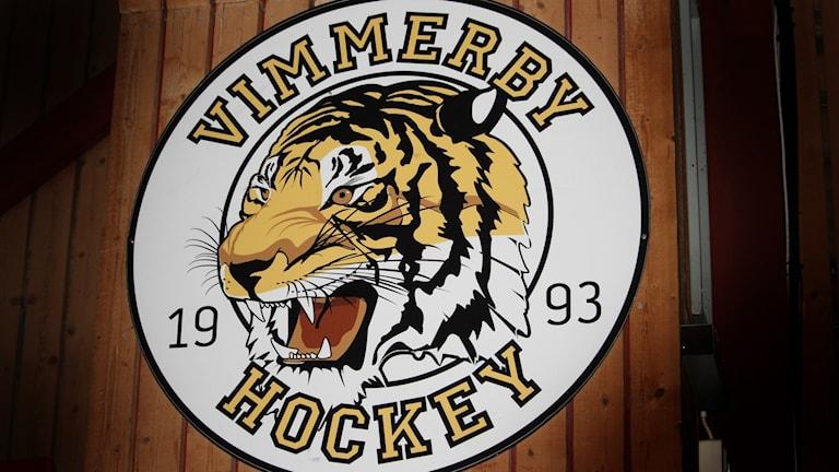 Vimmerby hockeys emblem.