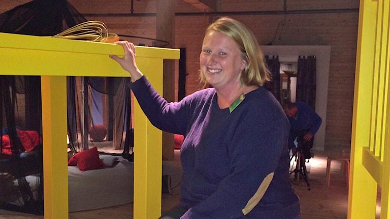På söndag öppnar utställningen Skogens väsen flyttar in på Virserums konsthall. En utställning för barn OCH vuxna säger producenten Carolina Jonsson