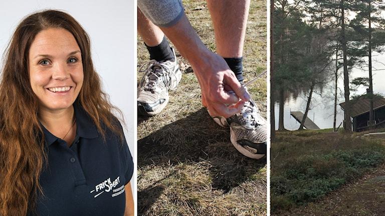 Frisksportarrörelsen, Sara Brunskog förbundsekreterare, jogging, bastu.