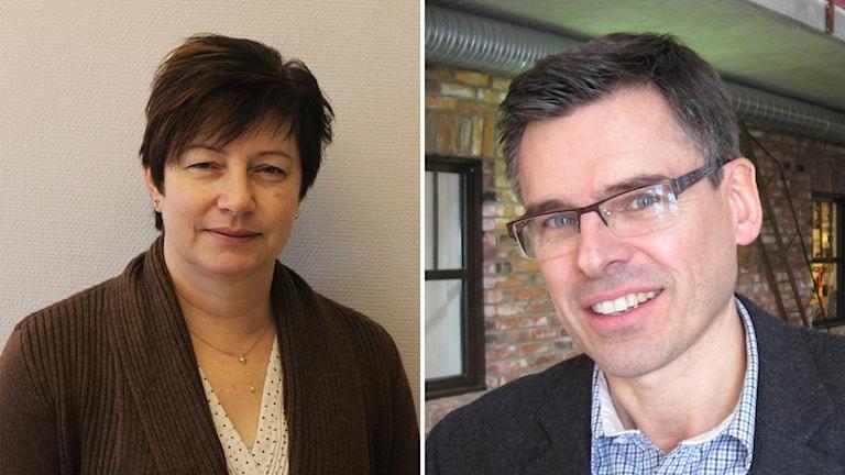 Montage Ewa-Leena Johansson  och Lars Rosander