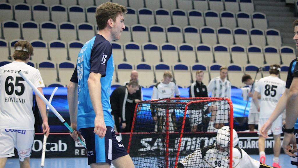 FBC Kalmarsund Kevin Haglund i matchen mot Linköping. 20210227
