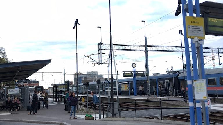 Centralstationen i Kalmar.