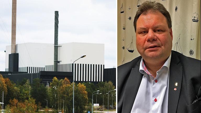 Oskarshamns kärnkraftverk och Peter Wretlund.