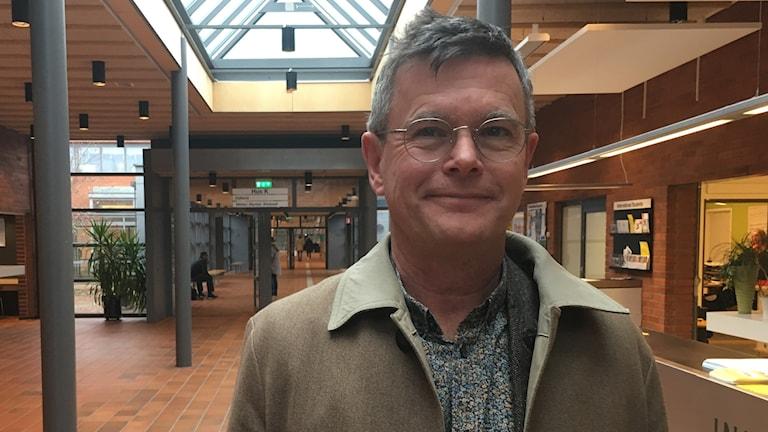 Rektor Peter Aronsson LNU