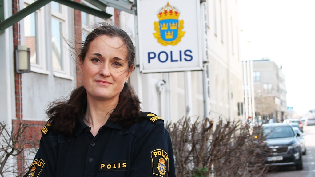 Ester Lundahl kommunpolis Oskarshamn
