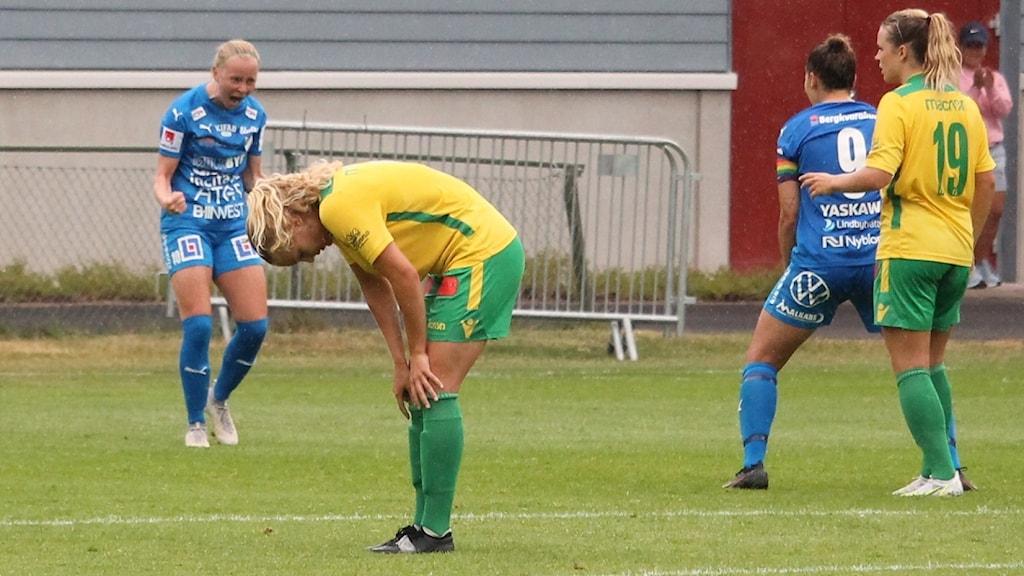 IFK Kalmar jublar efter vinsten mot Bollstanäs