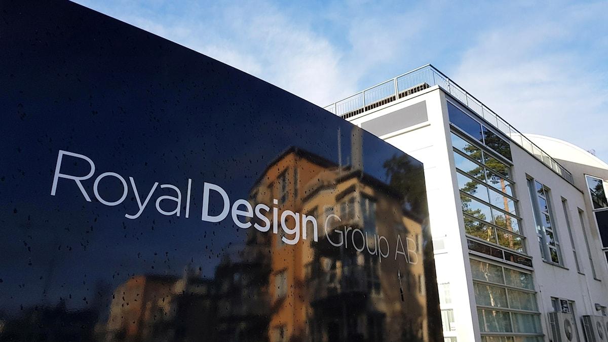 Royal Design groups kontor i Kalmar.
