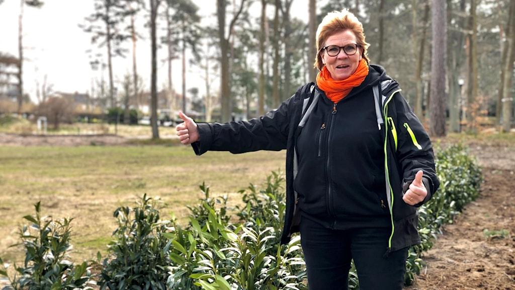 Birgitta Linåker.
