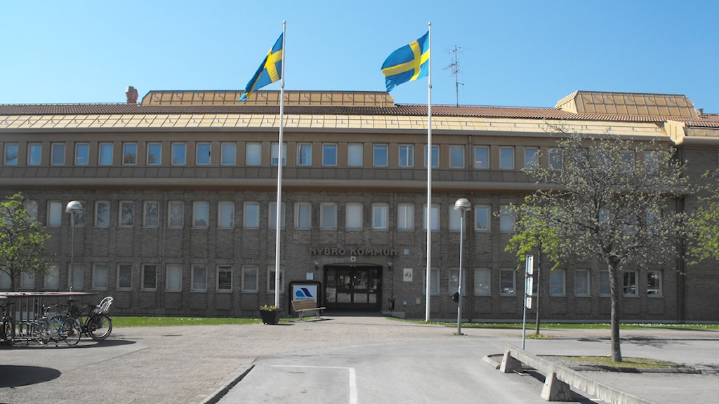 Nybro kommunhus. Foto: Nick Näslund/Sveriges Radio.