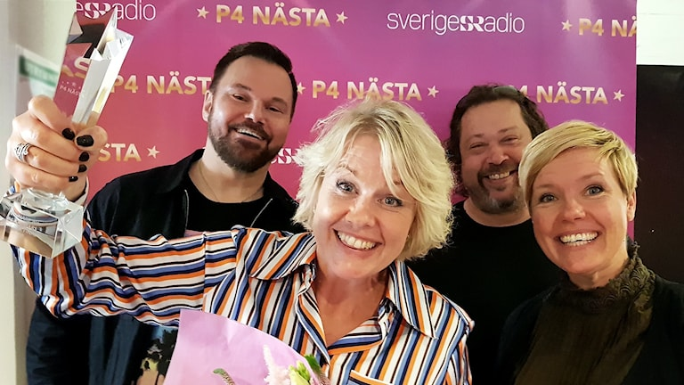 Lisa Blixt, Johan Mauritzson, Linnéa Jonasson, Thomas Karlsson.
