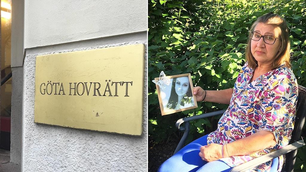 Göta hovrätt och Gunilla Tholander.