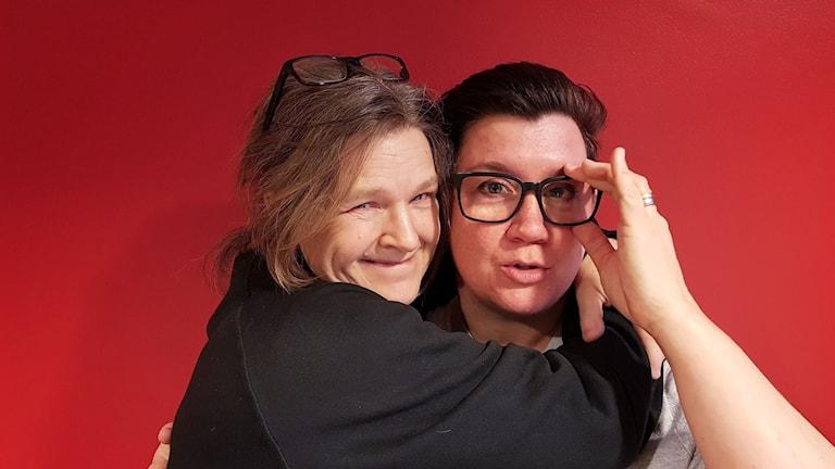 Maria Skagerlind och Mari Strålman.
