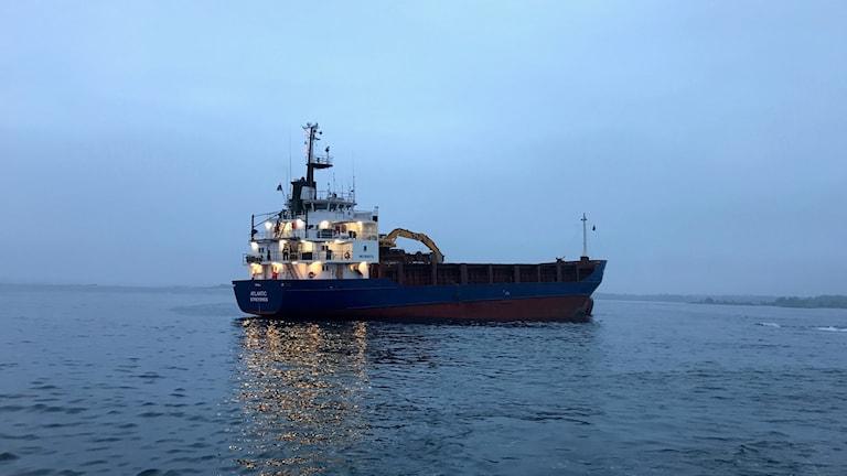 Grundstött fartyg Oskarshamn