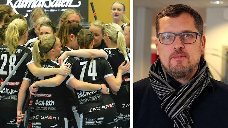 FBC Kalmarsund och klubbchefen Per Viberg.