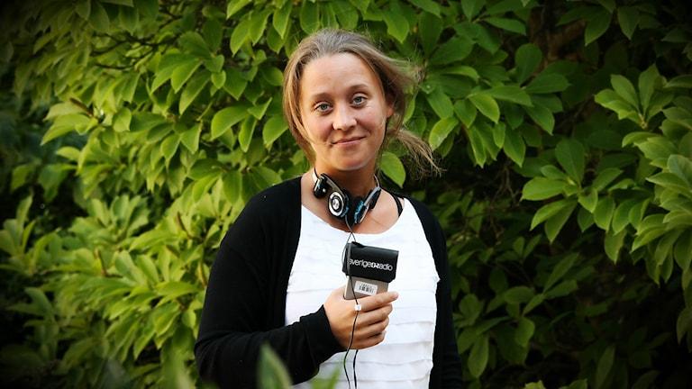 Martina Lingefjord. Foto: Jesper Ericson/Sveriges Radio.