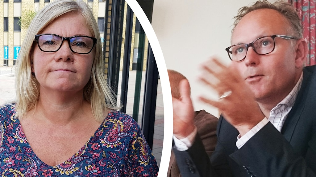 Liselotte Ross och Johan Persson.