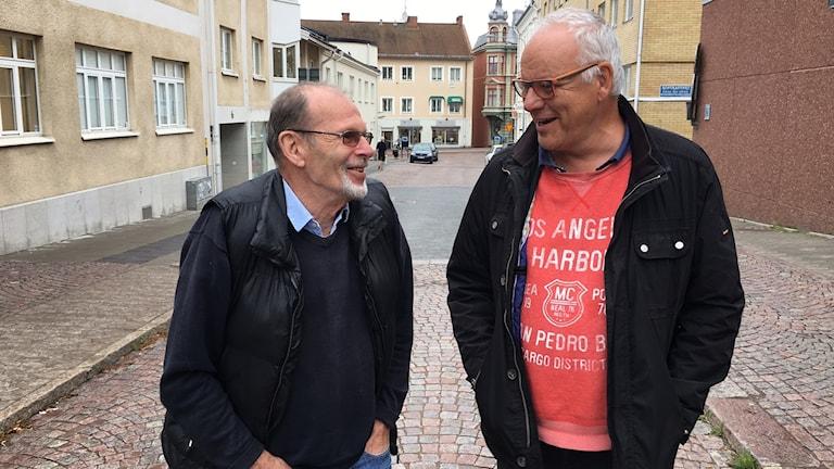 Magnus Ishe och Christer Wallman