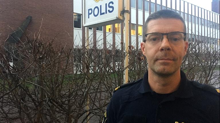 Peter Karlsson  polis i Oskarshamn och initiativtagare till Polisjoggen