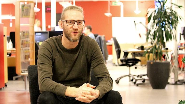 Erik Richardsen, övningsledare på länsstyrelsen i Kalmar.