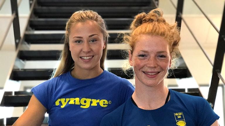 Victoria Petersson och Ylva Schwartz