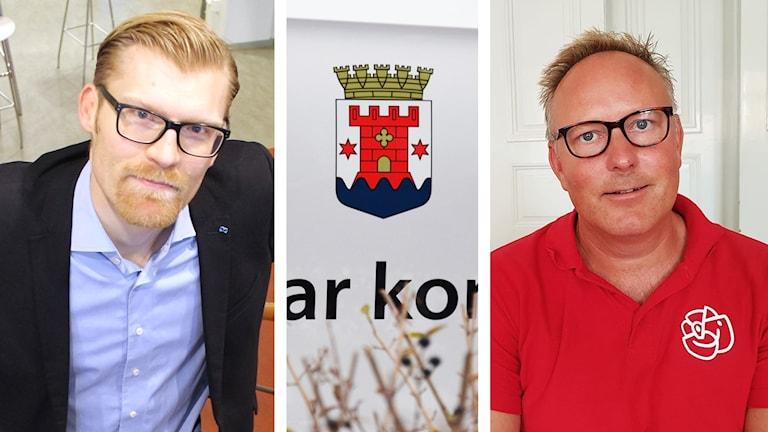 Carl-Henrik Sölvinger och Johan Persson.