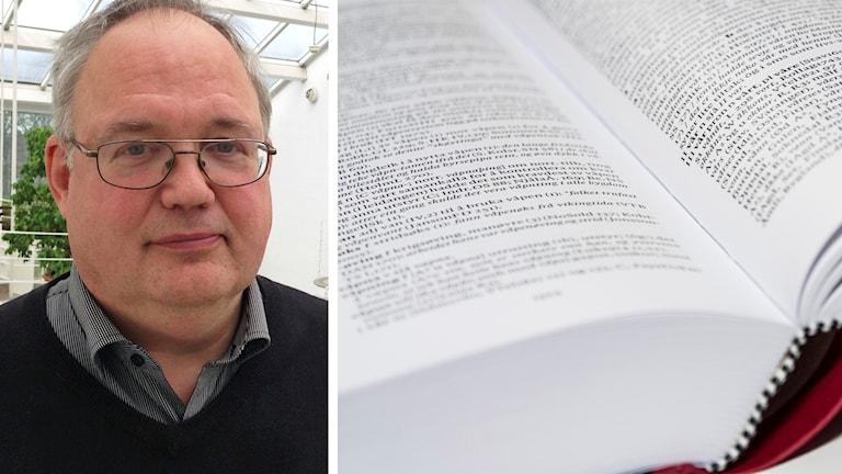 Bo Karlsson och en ordbok