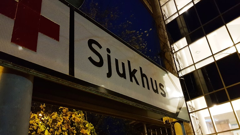 Sjukhus.