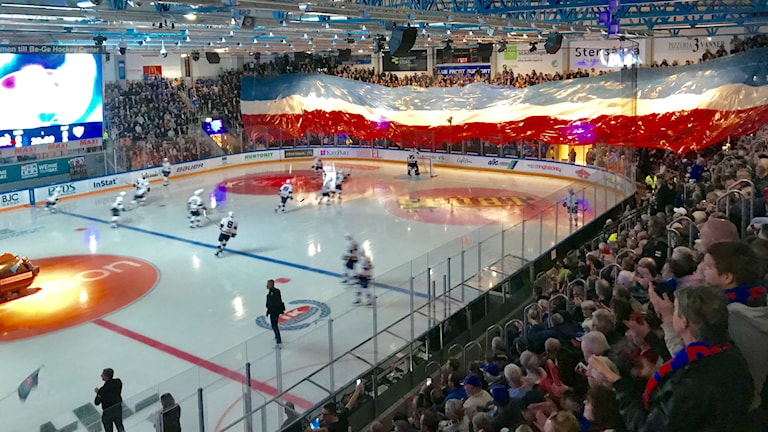 Publik i BeGe Hockey Center Oskarshamn