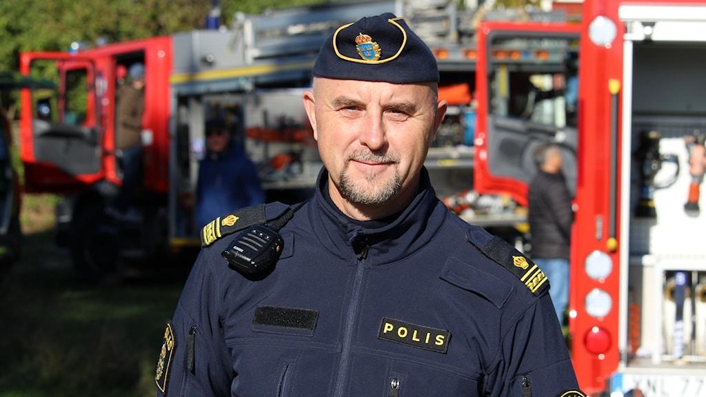 Magnus Areskog, kommunpolis Öland