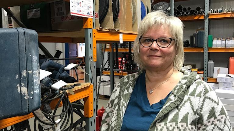 Ann-Louise Gerdin, företagare och kassör i Företagarna Oskarshamn.