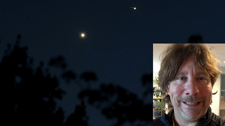Venus och Jupiter och Chris Allen