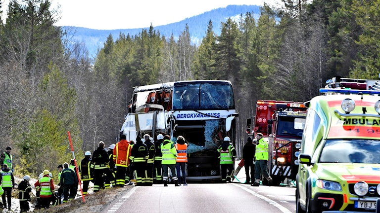 Bussolyckan i Härjedalen