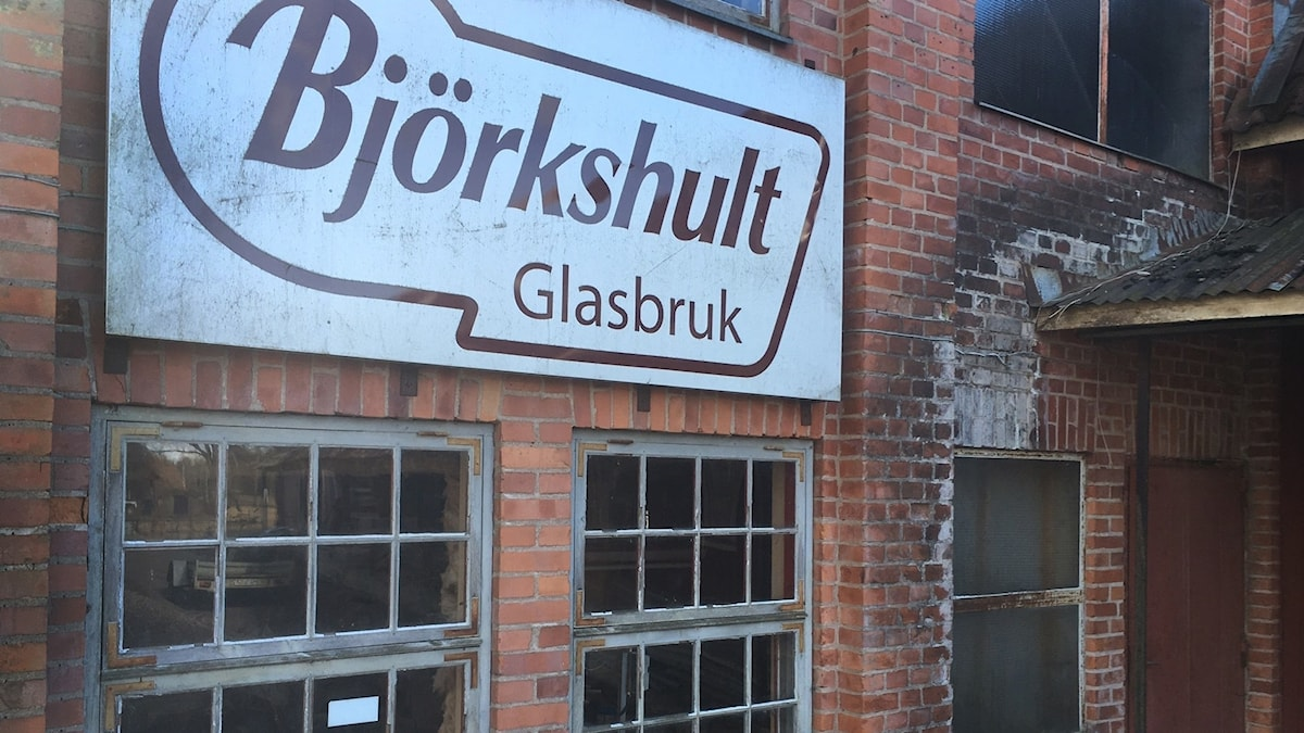 Björkshults gamla glasbruk