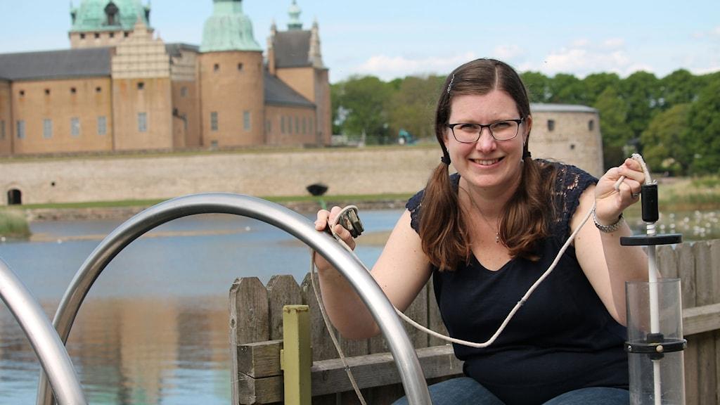 Forskaren Hanna Farnelid.