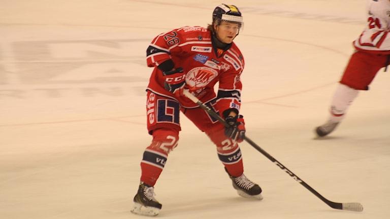 Victor Öhman i Västerviks IK.
