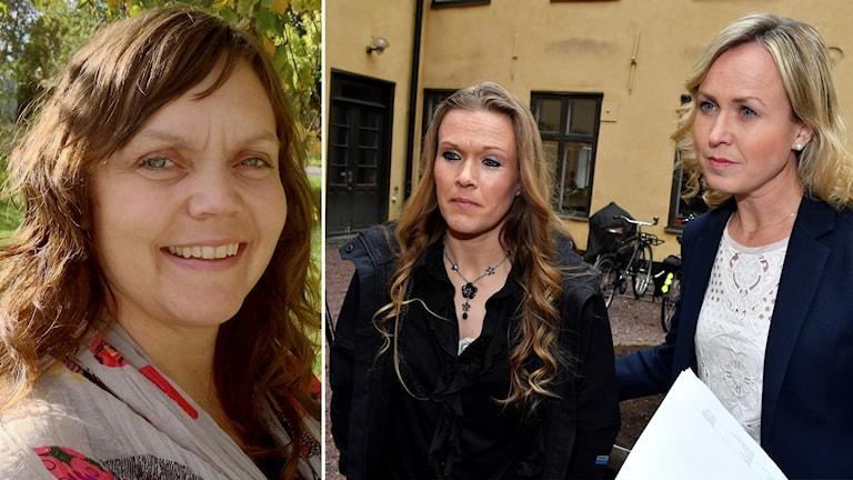 Linda Steen Ellinor Grimmark och Ruth Nordström