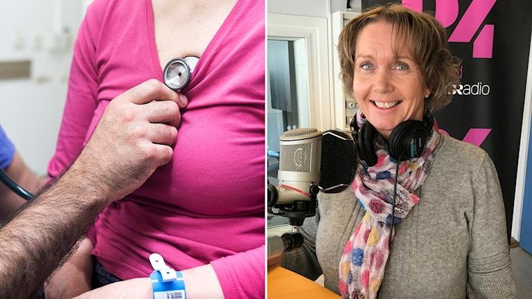 Lena Skytt, hjärtsjuksköterska vid medicinmottagningen på Nyköpings lasarett