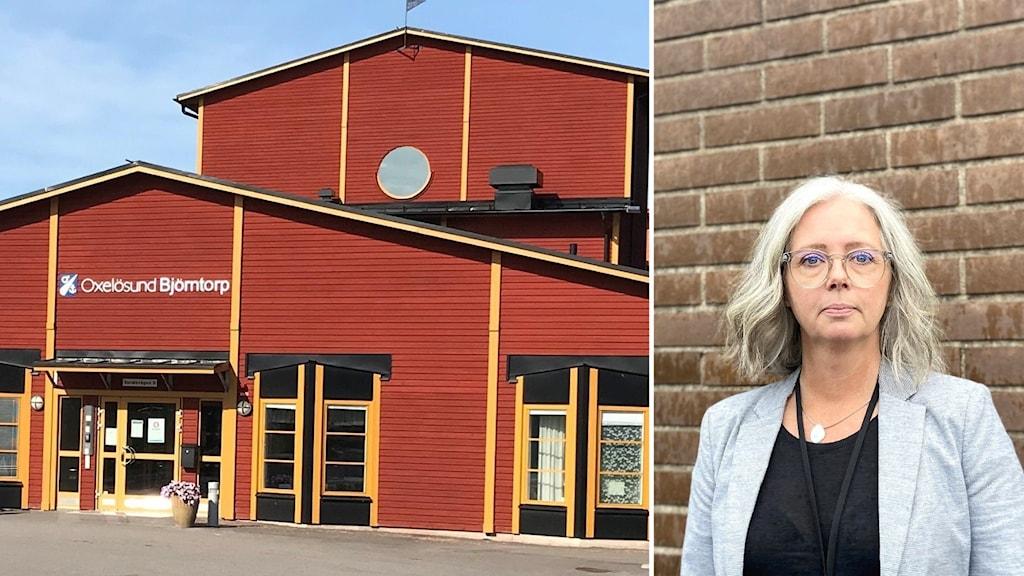 Titti Kendall, förvaltningschef inom äldreomsorgen i Oxelösund.