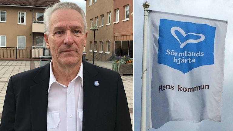 Göte Nilsson är gruppledare för Sverigedemokraterna i Flen.