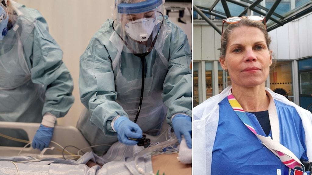 Karin Frisell medicinskt ledningsansvarig för IVA på Mälarsjukhuset