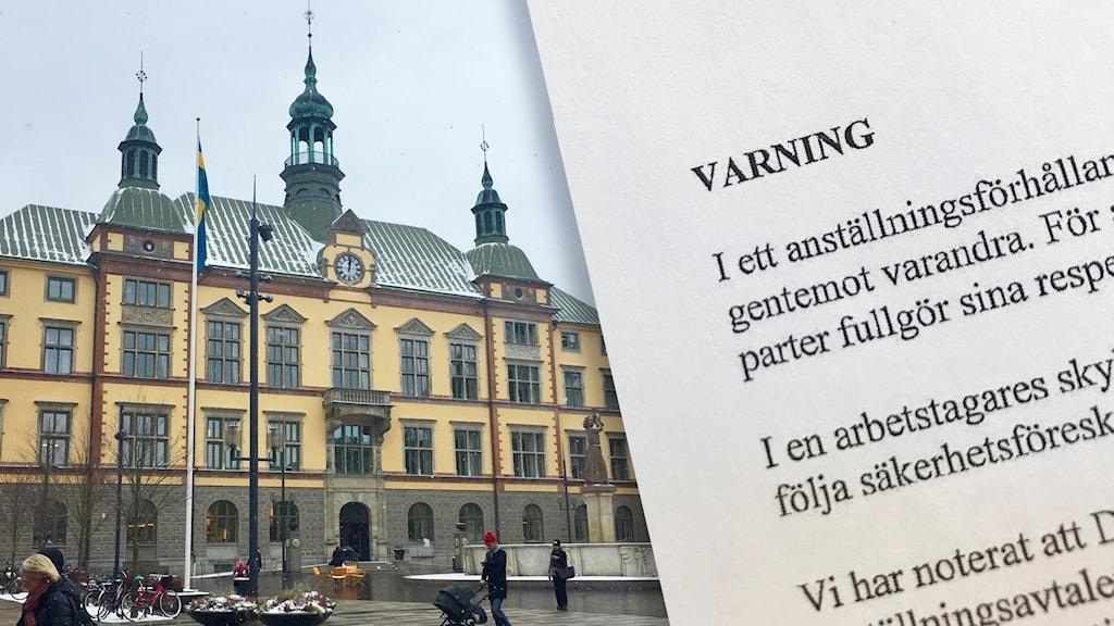 Kommunens varning mot Madeléne Tannarp (M)