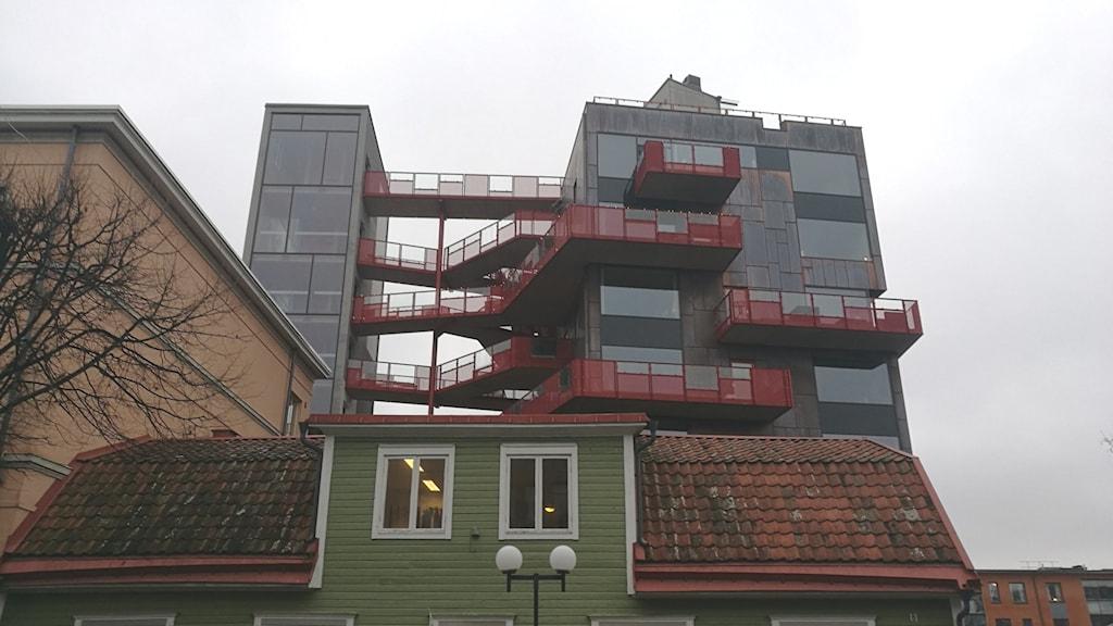 Huset Vulkanen 8 som vann priset.