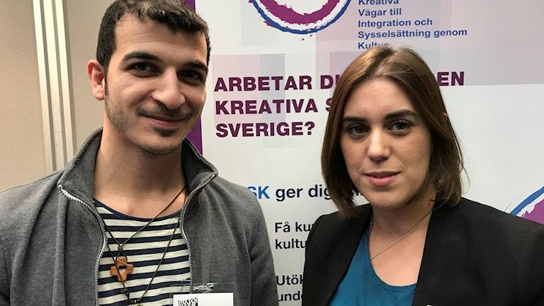Raafat Al-janabi och Tamara Valiente