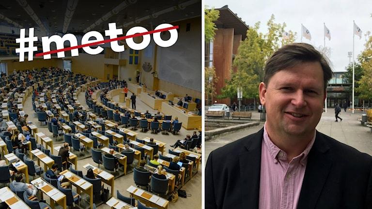 Plenisalen och Joakim Johansson.